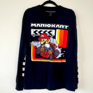 Mario Kart Long Sleeve Tee M